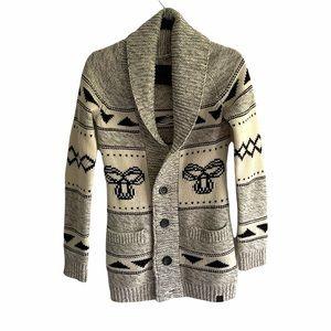 ARITZIA Sea To Sky Knit Cardigan Sweater  Grey S